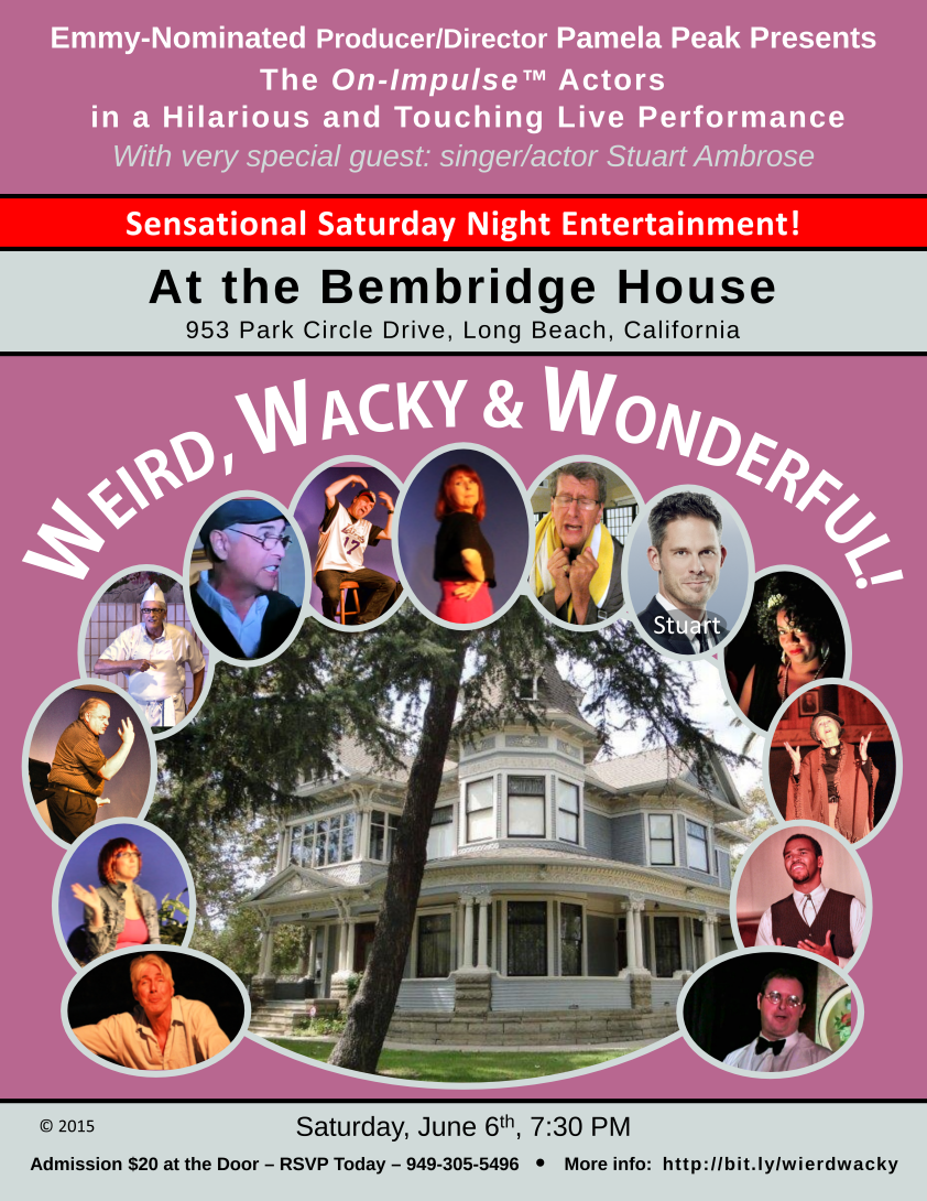 The Weird, Wacky and Wonderful show at the Bembridge House in Long Beach, California on June 6th, 2015